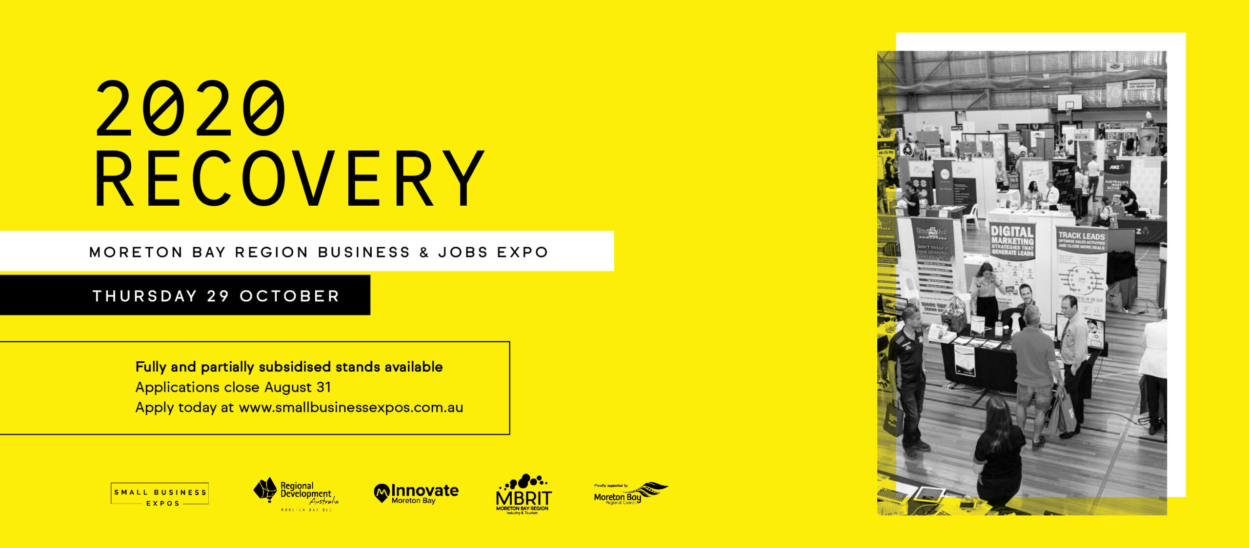 Apply for a Discounted Stand at Moreton Bay Business & Jobs Expo