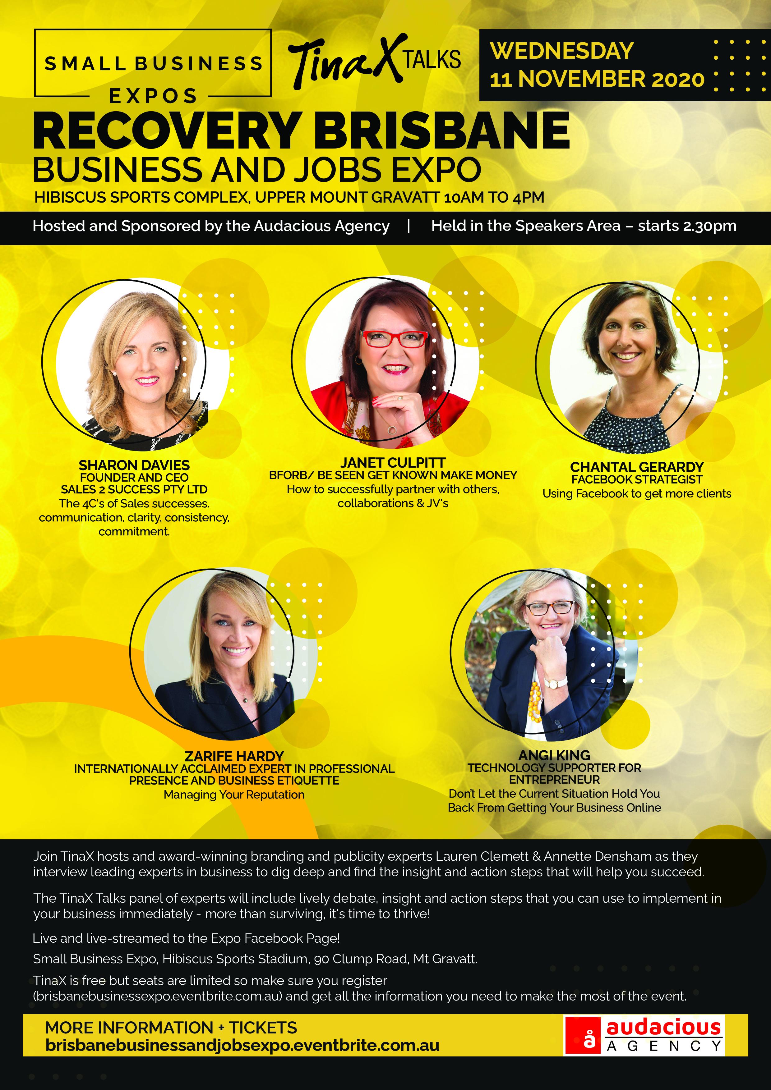 Business Expos | Brisbane | Gold Coast | Small Business Expos | Brisbane Flyer