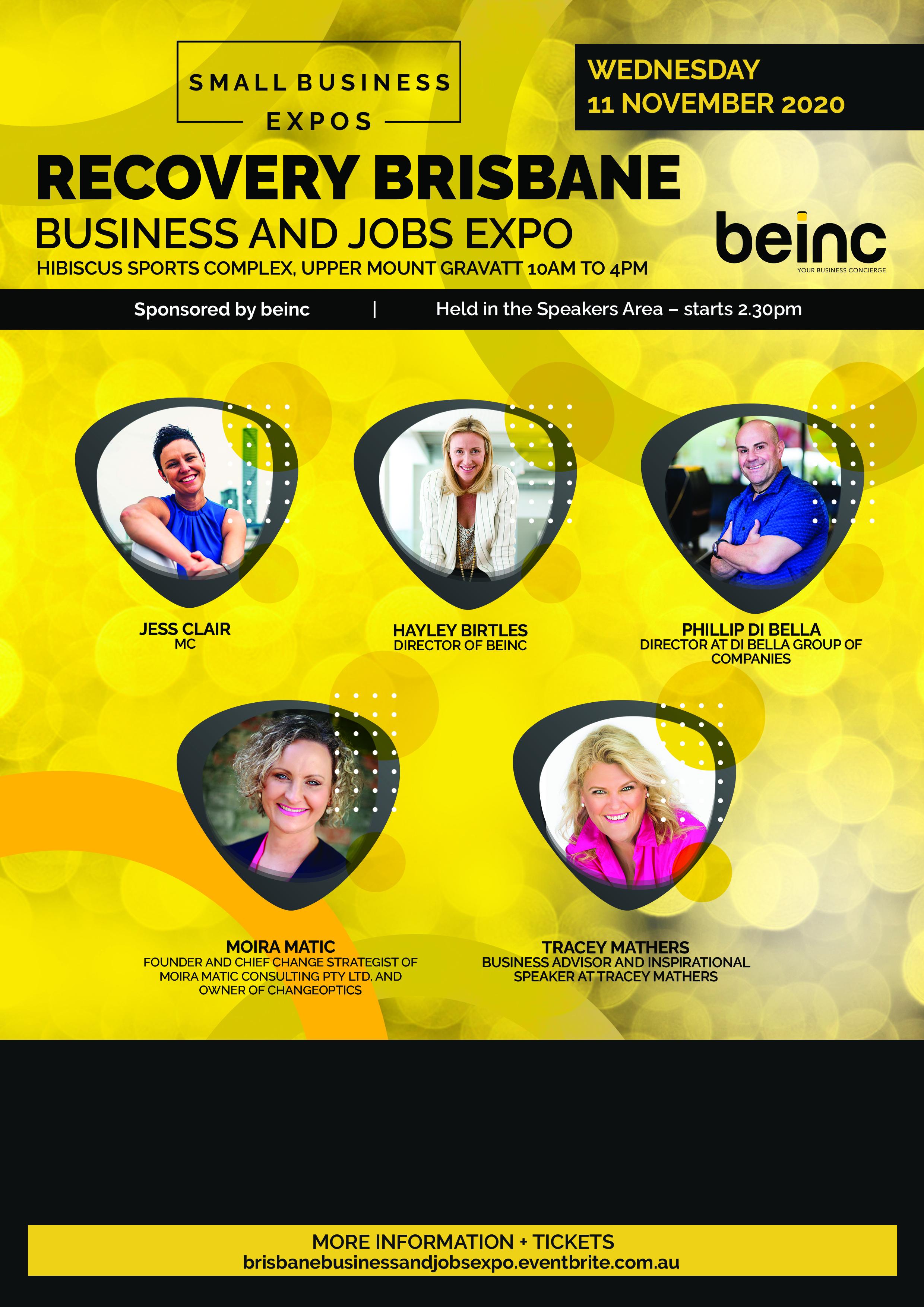 Business Expos | Brisbane | Gold Coast | Small Business Expos | Beinc Flyer (1)