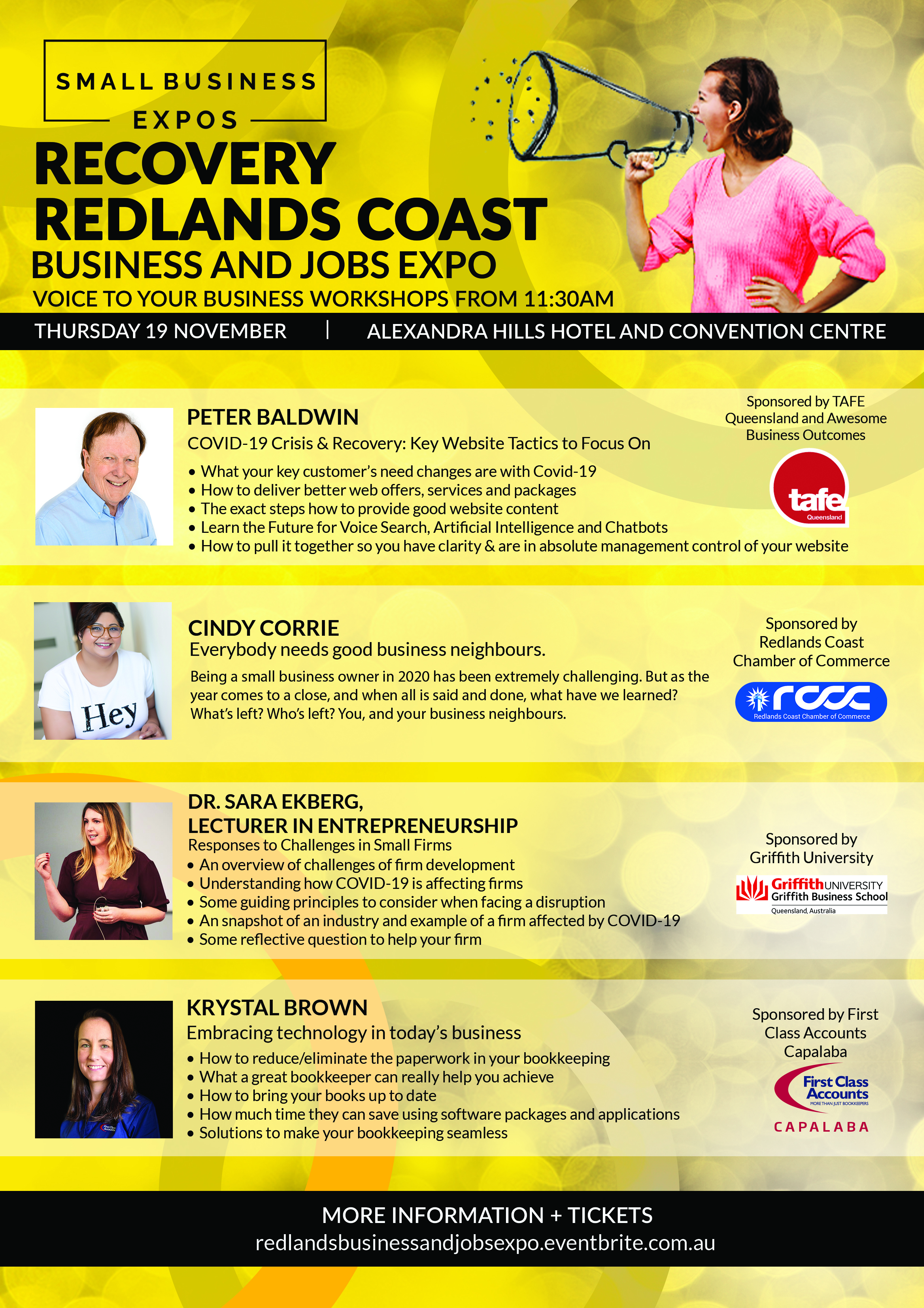Business Expos | Brisbane | Gold Coast | Small Business Expos | Redlands Coast Voice V2